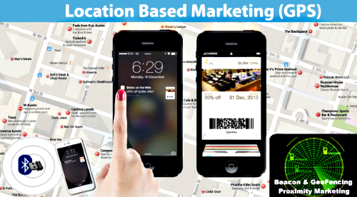 Beacon GPS Proximity Marketing Geo Fencing