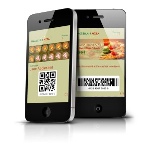 Pizza Reward Mobile Punch Cards